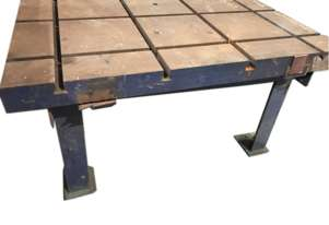 Tee T Slot Table Surface Bench Welding Fabrication Jigging