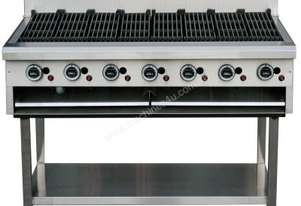 LKKCG12 7 Burner Gas Char Grill - 1200mm