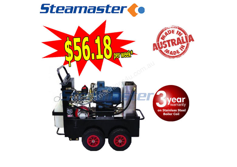 Electric Hot Water Pressure Washer 3650PSI BUSTER 1525F