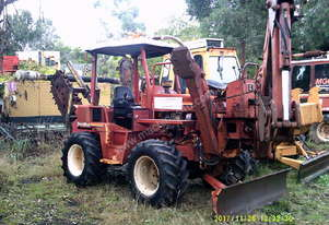 8020 trencher 90hp , + b/hoe attachment ,