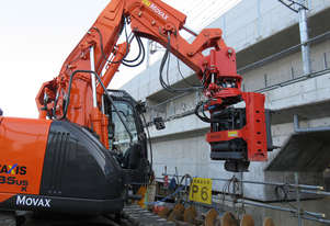 MOVAX EXCAVATOR MOUNTED PILE DRIVER (7-11 T)