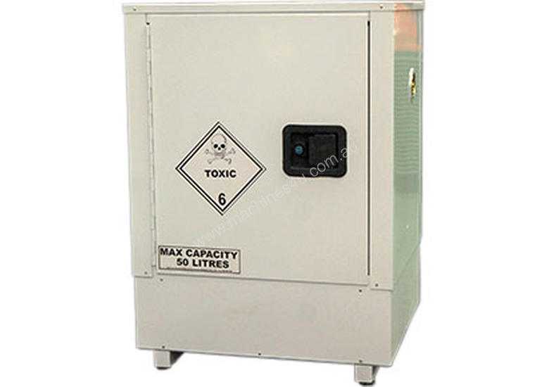 50 Litre Indoor Toxic Substance u0026 Pesticide Storage Cabinet. Made in Australia.  sc 1 st  Machines4u & New 2018 Spill Crew 50 Litre Indoor Toxic Substance Pesticide ...