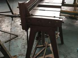 McPherson Sheet Metal Guillotine Old Collectors Item - picture9' - Click to enlarge