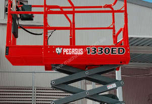 Pegasus 1330 Micro Scissor Lift WITH optional world first Overhead Warning System