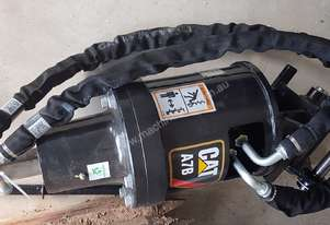 NEW CATERPILLAR AUGER DRIVE WITH AUGERS