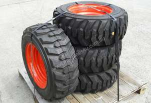 10-16.5 10ply Tyre Rim assemble fits most Bobcat models