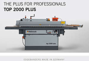 new Hebrock TOP 2000 PLUS Edgebander
