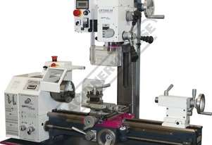 TU-2506V-20M Opti-Turn Lathe & Mill Drill Combination Package Deal 250 x 550mm Included BF-20AV Mill