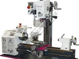TU-2506V-20M Opti-Turn Lathe & Mill Drill Combination Package Deal 250 x 550mm Included BF-20AV Mill - picture0' - Click to enlarge