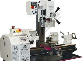 TU-2506V-20M Opti-Turn Lathe & Mill Drill Combination Package Deal 250 x 550mm Included BF-20AV Mill - picture2' - Click to enlarge