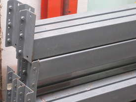 Pallet Racking 3200mm Load Beams and 2440 Endframes easy 8' mezz floor* - picture0' - Click to enlarge