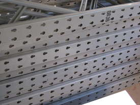 Pallet Racking 3200mm Load Beams and 2440 Endframes easy 8' mezz floor* - picture2' - Click to enlarge