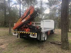 Crane truck Isuzu ftr 900 2006 fitted with a palfinger pk 8500 . Very good condition comes with work - picture1' - Click to enlarge