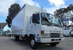 Mitsubishi Fighter Curtainsider Truck