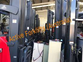HC Near New 3.5 Ton Diesel Forklift 3 Stage Mast Container Entry Mast - picture13' - Click to enlarge