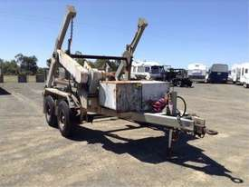6ton cable drum trailer , hydrailc drum drive / tensioner , self loader , ex local gov , 80 hrs - picture1' - Click to enlarge