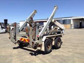 6ton cable drum trailer , hydrailc drum drive / tensioner , self loader , ex local gov , 80 hrs - picture2' - Click to enlarge