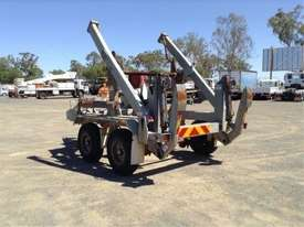 6ton cable drum trailer , hydrailc drum drive / tensioner , self loader , ex local gov , 80 hrs - picture3' - Click to enlarge