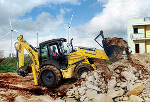 New Holland B110B Backhoe Loader