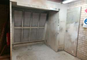 Industrial Open Face Spray Booth