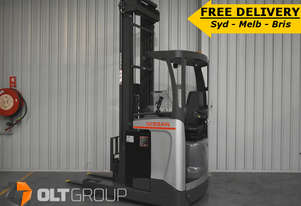 Nissan Ride Reach Truck 1.6 Tonne 7.95m Lift Height 2013 Low Hours Free Lift Mast Forklift
