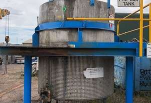 STAINLESS ASSOCIATES SS Jacketed Mixing Tank