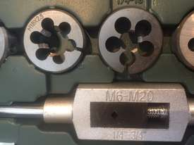 115 Pce Metric & SAE Tap & Die Threading Set -  In a toughened Plastic Case. - picture11' - Click to enlarge