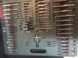 115 Pce Metric & SAE Tap & Die Threading Set -  In a toughened Plastic Case. - picture13' - Click to enlarge