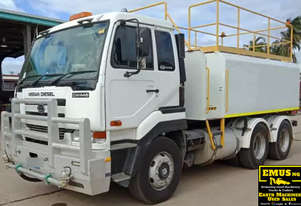 2007 UD 6x4 Water Truck, 14,000ltrs, low km's.  TS445