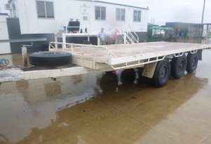 Wese Western Tag Flat top Trailer