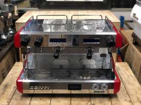 BOEMA CONTI CC100 2 GROUP RED ESPRESSO COFFEE MACHINE  - picture1' - Click to enlarge