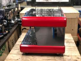 BOEMA CONTI CC100 2 GROUP RED ESPRESSO COFFEE MACHINE  - picture4' - Click to enlarge