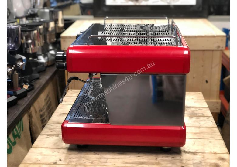 BOEMA CONTI CC100 2 GROUP RED ESPRESSO COFFEE MACHINE