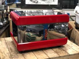 BOEMA CONTI CC100 2 GROUP RED ESPRESSO COFFEE MACHINE  - picture5' - Click to enlarge