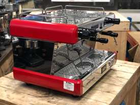 BOEMA CONTI CC100 2 GROUP RED ESPRESSO COFFEE MACHINE  - picture9' - Click to enlarge
