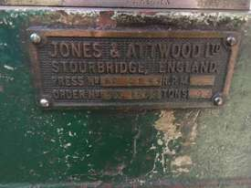 Jones & Attwood 6ton Incline Press - picture2' - Click to enlarge