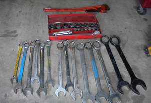 Heavy hand tools sockets & spanners