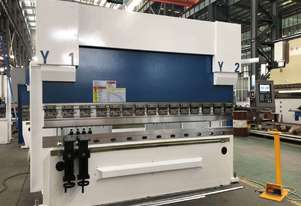 Exapress Rapide PBH 160-4100 Hydraulic Downstroking synchronized Delem graphical touch screen CNC