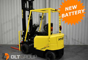 Hyster Electric Forklift NEW BATTERY + WATER KIT Low Hours Excellent Condition Melbourne Sydney