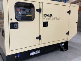 KOHLER KM22 IV 22kVA DIESEL GENERATOR ENCLOSED WATER COOLED | Made in France | - picture2' - Click to enlarge