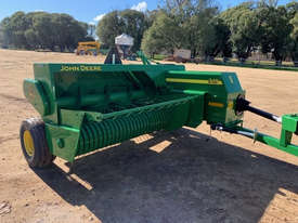 John Deere 348 Square Baler Hay/Forage Equip - picture0' - Click to enlarge