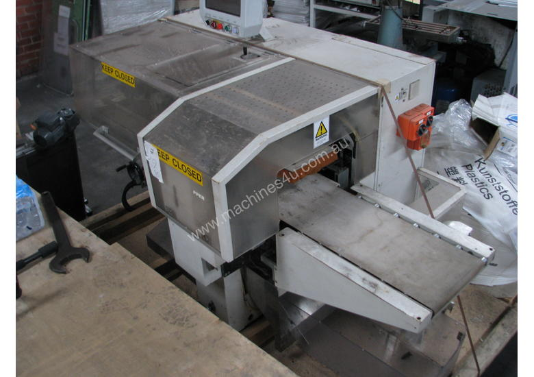 HORIZONTAL FORM FILL SEAL BAGGER WRAPPER MACHINE - Omori S-5700A-BX
