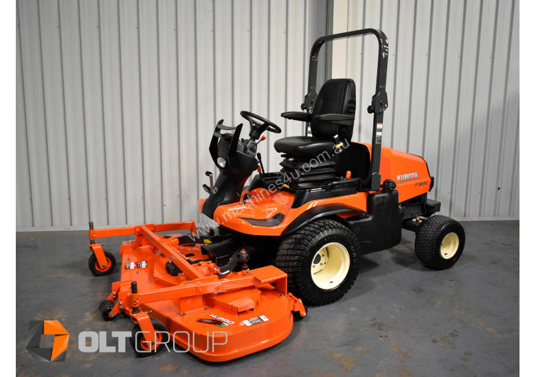 Kubota F3690 Out Front Mower 36hp Diesel Engine 72 Inch Side Discharge Deck