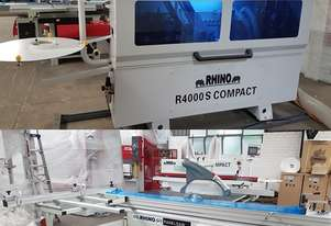 X DEMO RHINO PANEL EQUIPMENT EDGE BANDER + PANEL SAW PACKAGE