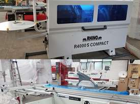 X DEMO RHINO PANEL EQUIPMENT EDGE BANDER + PANEL SAW PACKAGE - picture0' - Click to enlarge