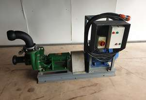 2014 Electric 22 KW Mission 3/4 Slurry Water Pump