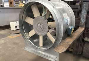 NEVER USED FANTECH 1.5HP 3 PHASE AXIAL FAN