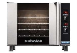 TURBOFAN E31D4 - 4 TRAY DIGITAL ELECTRIC CONVECTION OVEN