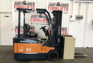 TOYOTA 7FBE15 57038 3 WHEEL COUNTER BALANCED FORKLIFT CONTAINER MAST