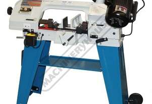 BS-4A Metal Cutting Band Saw - Swivel Vice 150 x 100mm (W x H)  Rectangle Capacity Mitre Cuts Up To